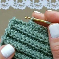 Best 12 How to knit Tunisian Crochet Stitch video tutorial – SkillOfKing. Tunisian Crochet, Learn To Crochet, Free Crochet, Knit Crochet, Crochet Baby, Crochet Stitches Patterns, Stitch Patterns, Knitting Patterns, Knitting Yarn