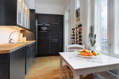 Bolig til salgs Real Estate, Kitchen, Table, Furniture, Home Decor, Cooking, Decoration Home, Room Decor, Real Estates