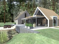 ecologische verbouwing, houtskeletbouw, energie neutraal sustainable home/ house