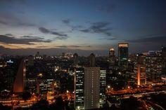 Sunset at Sudirman
