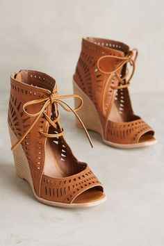 Jeffery Campbell Rodillo Wedges - anthropologie.com