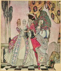 The Twelve Dancing Princesses, illustration by Kay Nielsen,1913