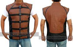 Farscape TV Series John Crichton's Men's Real Leather Vest