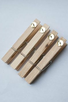 The link doesn't go to the clothespins, but I love this idea anyway!