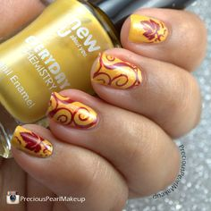Autumn Leaves | preciouspearlmakeup