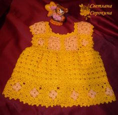 crochet baby dresses | make handmade, crochet, craft