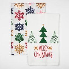 Wondershop 2pk Kitchen Towel- Merry Christmas at Target. Affiliate link.