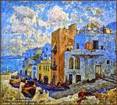Capri by Konstantin Gorbatov (Stavropol 1876 – Berlin 1945)