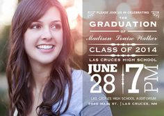Grad Proclamation photo graduation announcement - design by JoDitt Williams - order at photoaffections.com $1.13