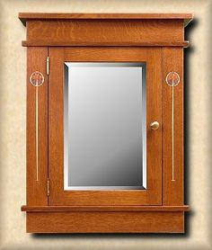 Mission Arts And Crafts Craftsman Stickley Custom Medicine Cabinets Missionfurnishings Doorbells