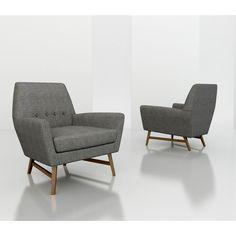 Midcenturymodernarmchairgray. midcenturymodernarmchairgray mid century modern armchair