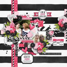 Mom's The Word by Grace Lee & Meghan Mullens http://www.sweetshoppedesigns.com//sweetshoppe/product.php?productid=38235&cat=961&page=2 Cluster and colors: Jingle bells by Tinci Designs  http://store.gingerscraps.net/Cluster-and-colors-Jingle-bells.html