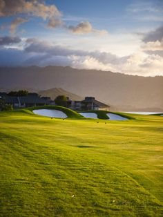 Makai Golf Course, Kauai, Hawaii, USA Photographic Print by Micah Wright at AllPosters.com