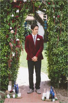 Art-Bufet - Самый модный цвет в 2015 году - Марсала. Свадебные тренды.