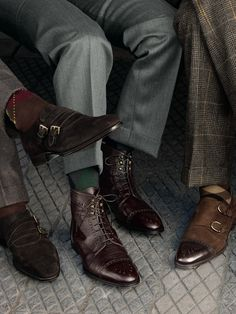 The Dapper Gentleman #shoes #dressy #menstyle #accessories #menswear