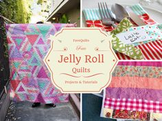 24 Free Jelly Roll Quilt Patterns + 12 New Jelly Roll Quilts | FaveQuilts.com