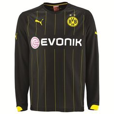 Puma BVB Away Shirt 2014/16 - Long Sleeve 745885-01 BVB Away Shirt 2014/15 - Long Sleeved - BlackShow your support for your favourite team in this long sleeved BVB Away Shirt which is built with a Woven PU club badge and BVB Club wording heat transfer http://www.MightGet.com/february-2017-2/puma-bvb-away-shirt-2014-16--long-sleeve-745885-01.asp