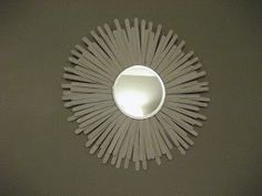 $2 decorative mirror So, remember this mirror that I referenced in a post earlier this month? I found it on Crafty Nest , and it tot...