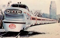 GM Aerotrain, produced by General Motors Electro-Motive Division in the mid-1950s