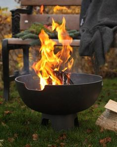 #MorsøFirepit is the ideal choice for everyone who likes to create good, atmospheric times in the garden.  www.homestylestoves.co.uk
