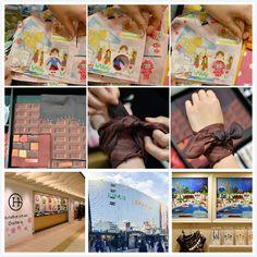 Not only Yokohama Limited cute handkerchiefs but also a lof of attractive souvenirs in JOINUS.  #japankuru #japan #travel #yokohama #jshopping #handkerchief #joinus