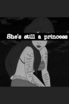 cute true princess disney self harm