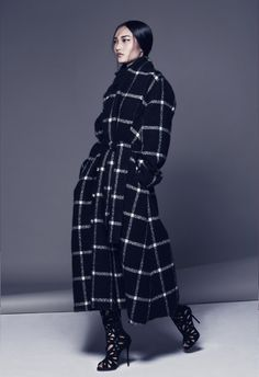 Lanvin the Wrap Coat Wrap Coat, Sweater Jacket, Lanvin, Branding Design, High Neck Dress, African Clothes, Seasons, Sweaters, How To Wear