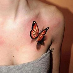 Hands down best butterfly tattoo I've EVER seen!