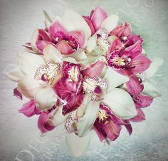 orchidea csokor - Google Search Floral Wreath, Wreaths, Weddings, Google, Decor, Decoration, Decorating, Door Wreaths, Wedding