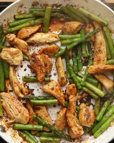 Lemon Chicken And Asparagus Stir Fry                                                                                                                                                                                 More
