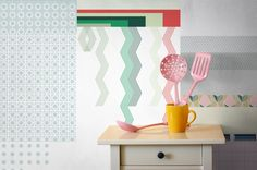Cut & Paste Wallpaper Collection by All The Fruits Photo