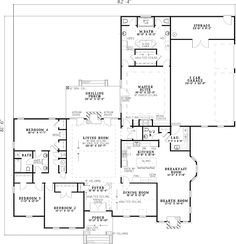 Luxury Features in a Traditional Home Plan - 59454ND | Traditional, Photo Gallery, 1st Floor Master Suite, CAD Available, Jack & Jill Bath, PDF, Split Bedrooms, Corner Lot | Architectural Designs