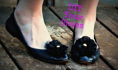A tutoiral on how to paint suede shoes! This is an easy shoe Refashion by my life on the Divide