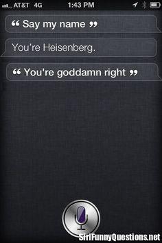 Walter Talks to Siri