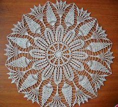 Arianne crochet doily ecru round doily 14.5'' by EstersDoilies, $16.99