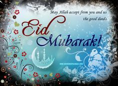 To all my brothers and sisters in faith.. wishing you all a happy Eid Mubarak!