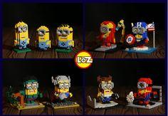 mini lego Minions