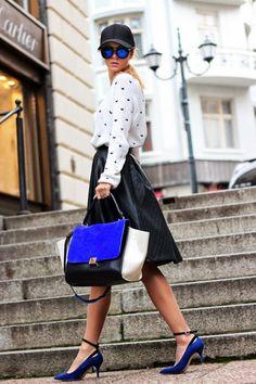 mykonos ticker: 20+1 Street Style στυλάτοι συνδυασμοί, με πουλόβερ...