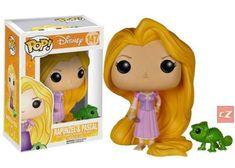 Funko Pop! Disney: Tangled Rapunzel & Pascal #142 *New In Box*