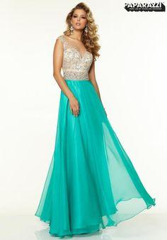 Mori Lee A Line Dress 97092