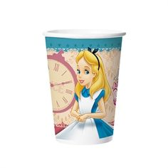 Copo Descartável Festa Alice no País das Maravilhas
