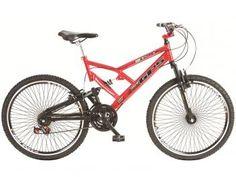 Bike com Dupla Suspensão Galera!  Bicicleta Colli Bike Aro 26 21 Marchas - Dupla Suspensão e Freio V-break. Você encontra aqui no Magazine Allameda. Venha Conferir!