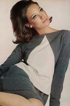 Photo by Irving Penn For Vogue, 1965. Vintage fashion