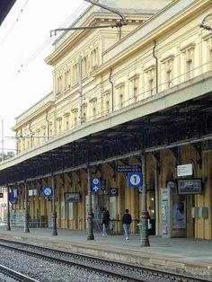 Modena railway station, Emilia-Romagna, Italy