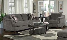 Grey Furniture Living Room Ideas
