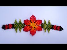 PULSERA EN MOSTACILLA, MUY FÁCIL DE HACER. SIN TELAR 🌺 - YouTube Beaded Choker, Beaded Bracelets, Beading Projects, Beading Patterns, Crochet Earrings, Chokers, Mexican, Jewelry, Youtube
