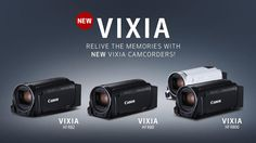 Above (left to right): Canon Vixia HF R82, R80 and R800. Canon Announces Updated VIXIA HF-R Series Camcorders http://www.photoxels.com/pr-canon-gx9xmii/