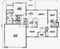 Functional Homes: Universal Design For Accessibility: 3 Bedroom Wheelchair  Accessible House Plans