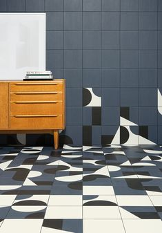 Glazed stoneware wall/floor tiles PUZZLE Puzzle Collection by MUTINA design…