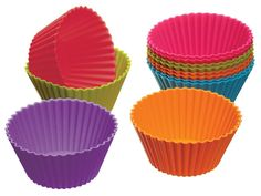 Silicone Cupcake Liners, Cupcake Cases, Cupcake Wrappers, Cupcake Holders, Baking Accessories, Kitchen Accessories, Baking And Pastry, Muffin Cups, Muffin Cupcake